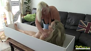 Extraordinarily busty adult lady trying drag queen sex with well built live like sex doll