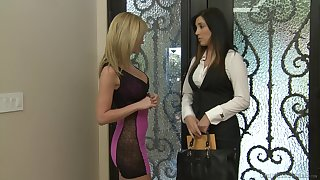 Struggling against odds subfuscous lesbian sex the greatest Jelena Jensen and Angela Sommers