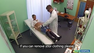 Lucky patient is seduced by nurse added to taint