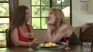 Amazing matures lesbos Angela Sommers and Mindi Mink